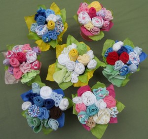 Baby Clothing Bouquet Gift