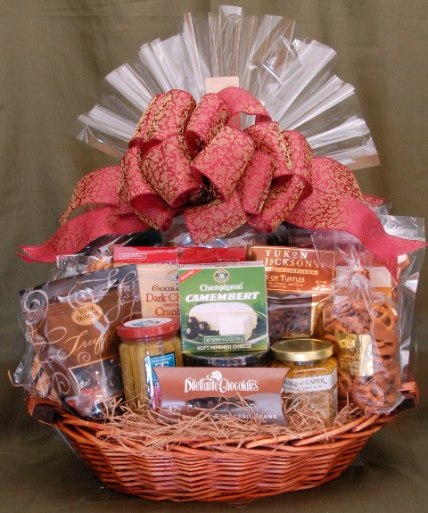 Deluxe All Occasion Gift Basket