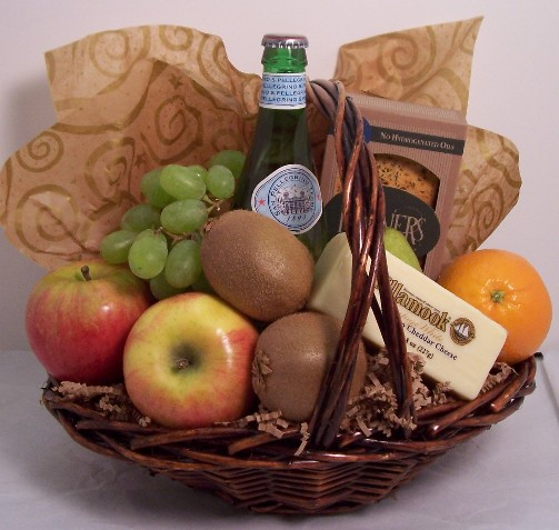 Fruit and Gourmet Foods gift basket