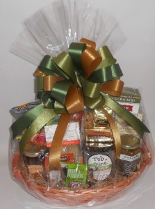 Vegetarian Pike Place gift basket