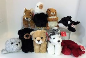 northwest plush animals